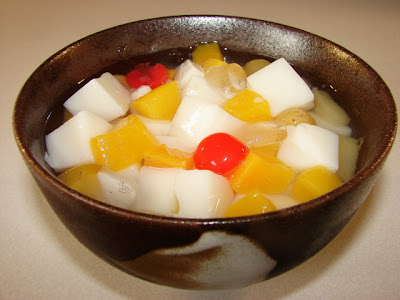 Sunflower Food Galore: Almond tofu 杏仁豆腐