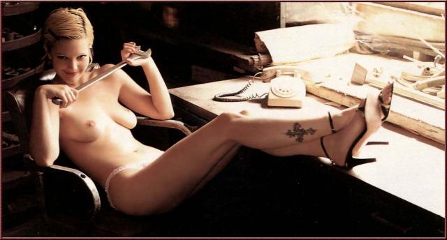 Drew Barrymore Playboys Video Porno