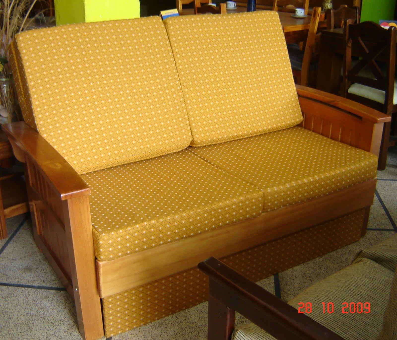 Muebles a tu medida sofa cama de 2 plazas for Medidas sofa 2 plazas