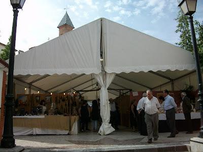 Feria de Artesanía de Cuevas de San Marcos