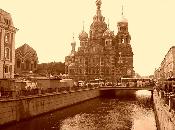 "RUSSIA - Russian Orthodox Cathedral:  ""The Church of the Savior on Spilled Blood"" / @JDumas"