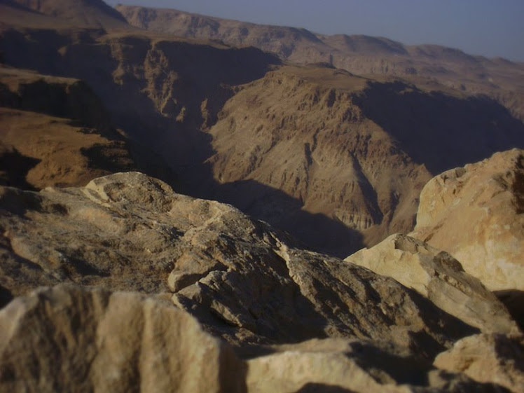 ISRAEL - The Judean Desert at Masada / @JDumas