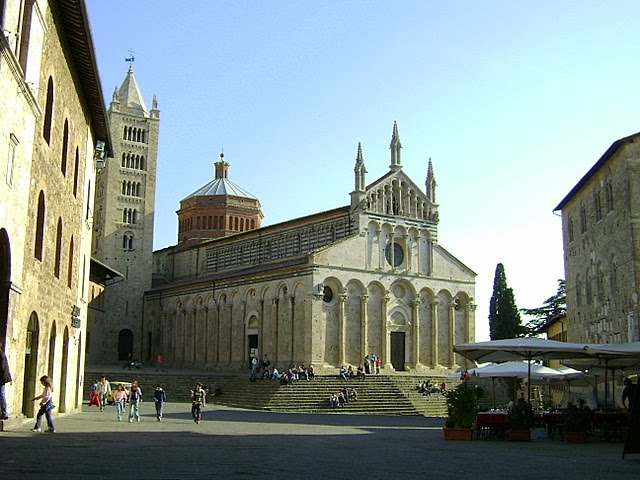 ITALY - Saint Cerbone's Cathedral in the town of Massa Marittima (Western Tuscany) / @JDumas