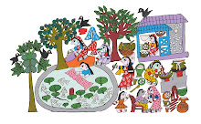 Mithila Art (Daily household work of maithili women)