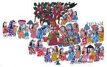 Mithila Art (Bat sabitri festival of maithili women)