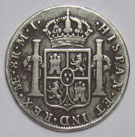 Peru 1781 mi carolus iii - terjual