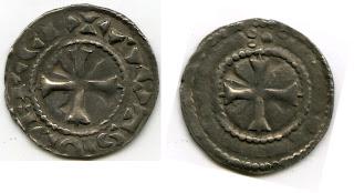 Monnaie à (éventuellement) identifier Auxerre+PA5880,+Coll.+EV,+21+mm,+1,31+g