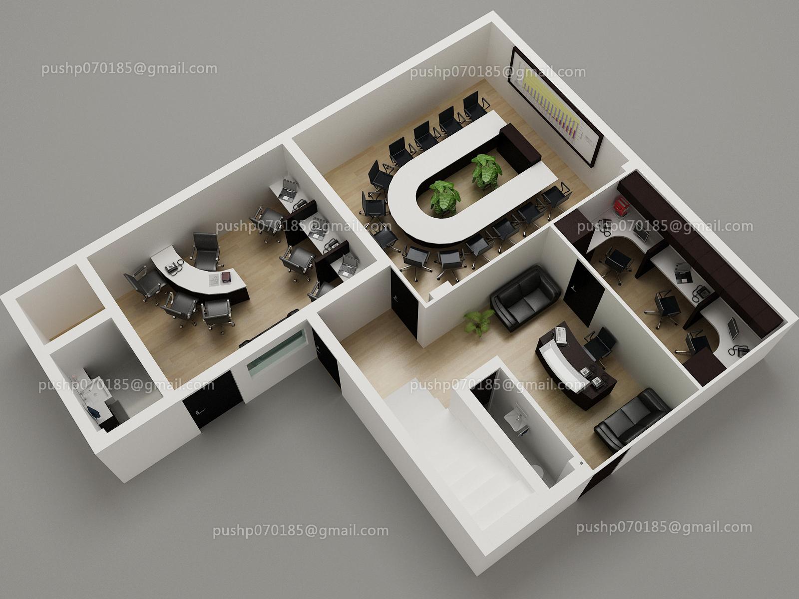 3D Graphic Floor Plan