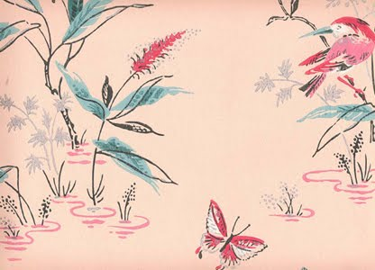vintage wallpaper room. They offer wallpapers in
