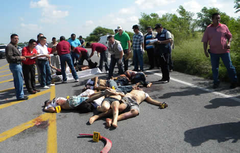 Borderland Beat: Zetas Murder 12 in Matamoros