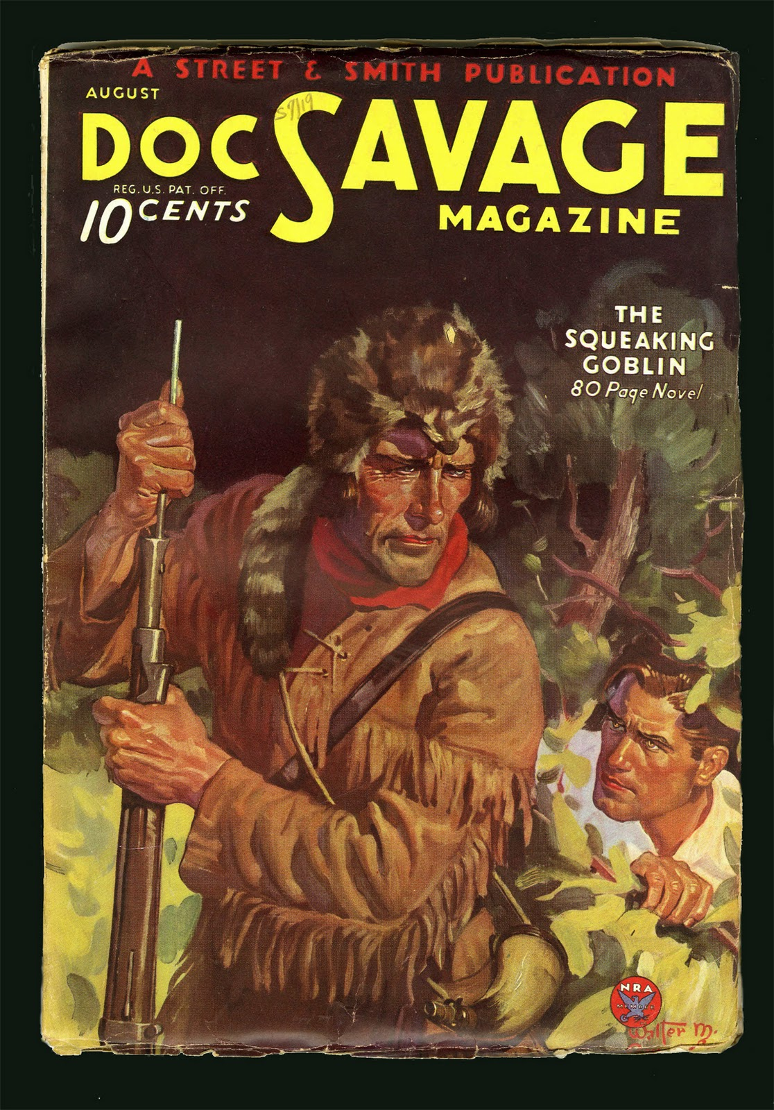 Doc Savage # 18 : The MONSTERS and the WHISKER of HERCULES SC