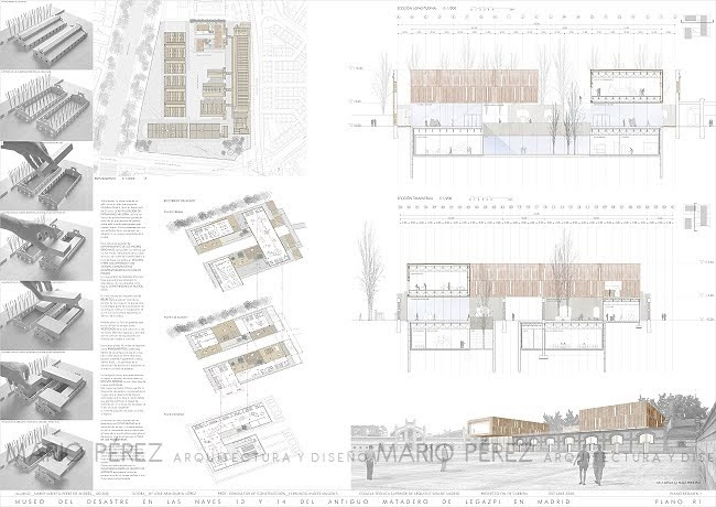 Mario p rez arquitecto pfc museo del desastre i etsam - Ets arquitectura madrid ...