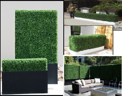 Artificial Hedges And Faux Plants Outdoor Rated