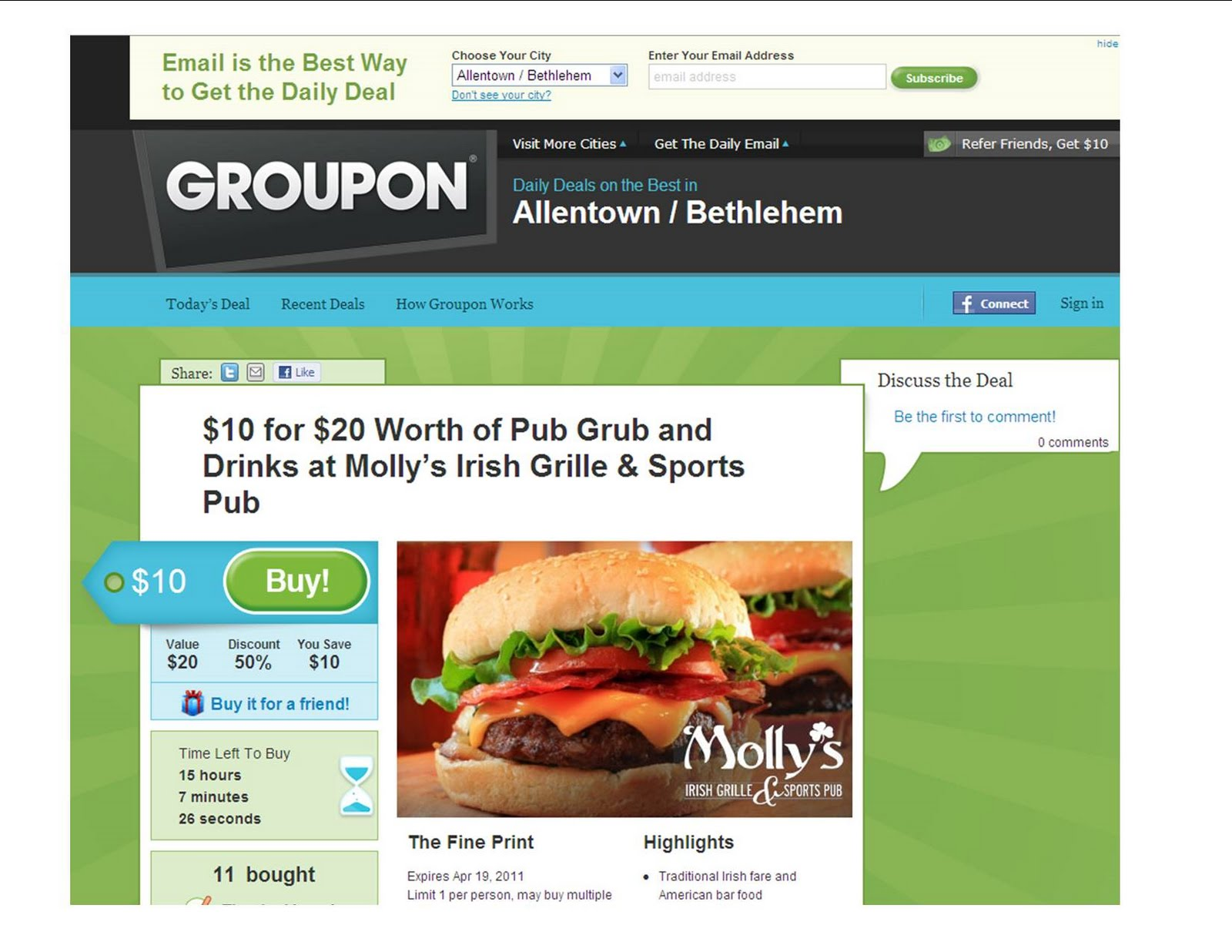 Lehigh Valley Transplant: Groupon comes to the Lehigh Valley