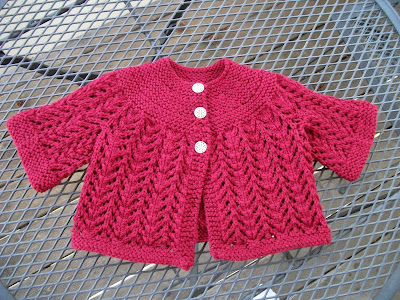 Free Knitting Patterns For Baby Weight Yarn : BABY CARDIGAN PATTERN WORSTED WEIGHT YARN Sewing Patterns for Baby
