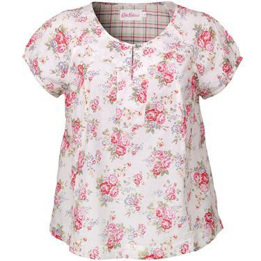 La blusa de flores y CATH KIDSTON