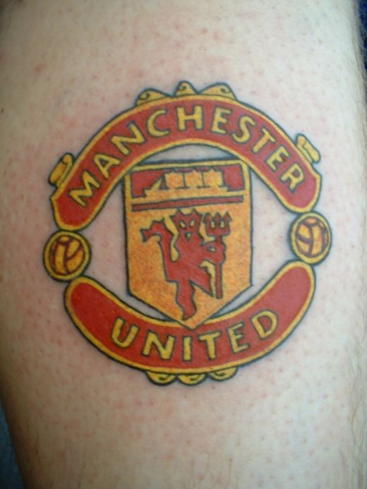 Manchester United football Tattoos