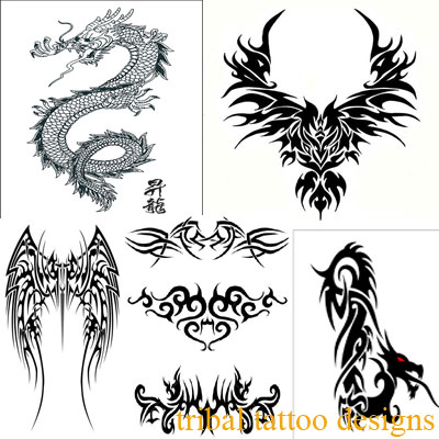 Dragon Tattoos for Girls Collections