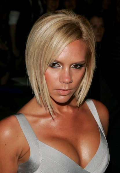 total hair styles: Victoria Beckham Inverted Bob Hairstyles