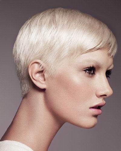vietnamese hairstyle. Trend Short Blonde Hairstyles