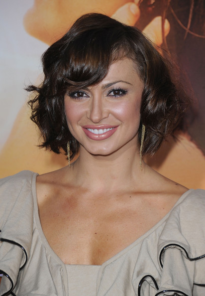 Karina Smirnoff Short Curly Hairstyle