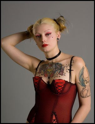 Female Tattoo Photography Gallery Pictures