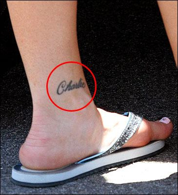 celebrity ankle tattoos. Posted by moreno at 9:19 AM