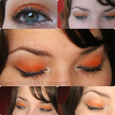 barry m orange dazzle dust, number 77