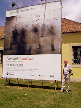 Lothar Sciffler está em Lisboa, para ver a minha exposição na Cordoaria Nacional - Lx.