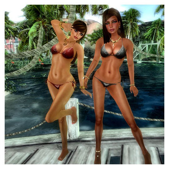 Carol Nakamura bikini photos
