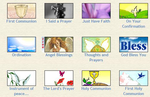 people love to send free ecards to each other. Catholic ecards ...