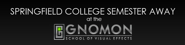 Semester Abroad at Gnomon School of Visual Effects