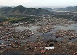 A tsunami's annihilation of a community.