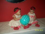 1 ano da Sarah e Sophia