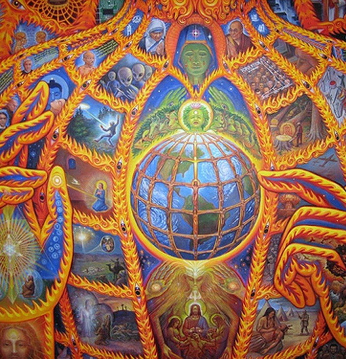 Alex Grey | Cosmic Christ