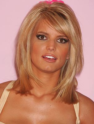 medium length hairstyles with side bangs and layers for girls