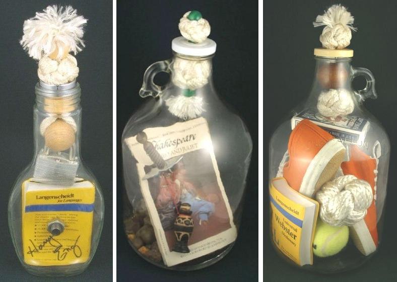 Coscorrn de Razn Las botellas imposibles de Harry Eng