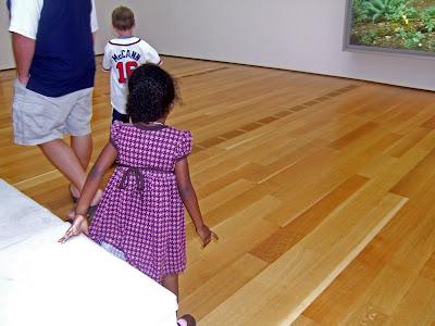 , Tot Visit to Real Museum – HIGH Museum of Art Atlanta