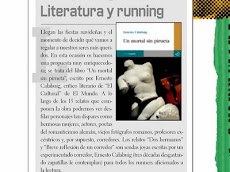 "Resea de ""Un mortal sin pirueta"" en la revista Runners World"