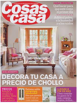 Blog de vicens castellano salimos en la revista cosas de casa - Outlet cosas de casa ...