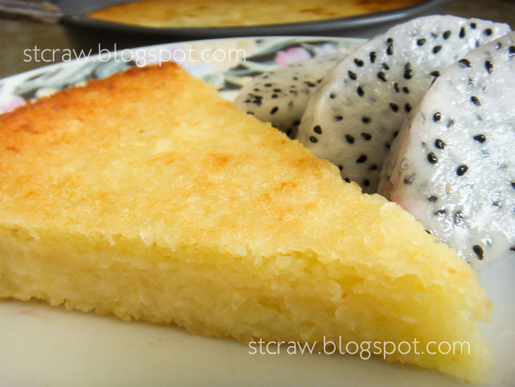 how to make cassava cake recipe