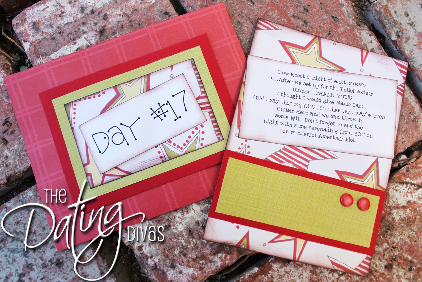 "dating divas spouse christmas Date night in a bag {dating divas  to ""date your spouse"" the dating divas consists of  card chalkboard paint chevron christmas clock craft craft room."