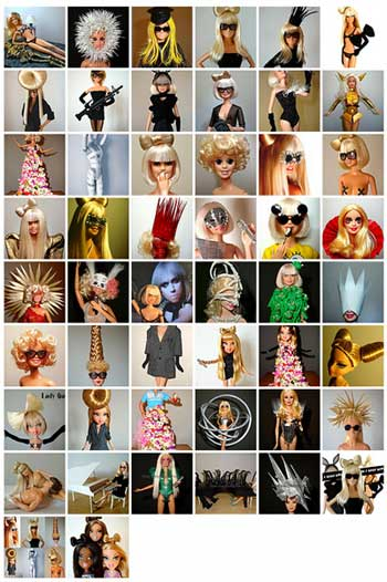 The Lady Gaga Barbie Dolls are unfortunately not for sale,