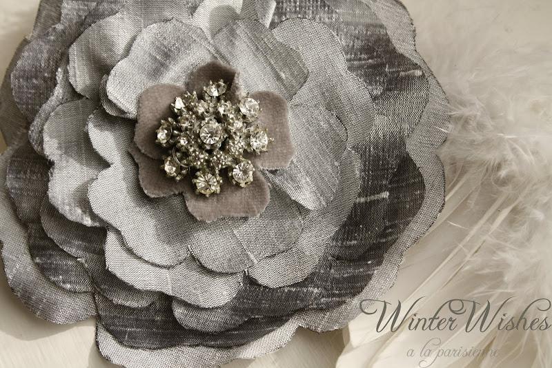 Идеи WinterWish++GlamWinterBrooch+alaparisienne.etsy