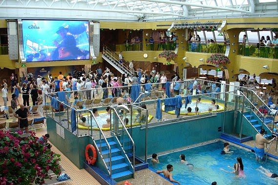 Baño Turco La Serena:Cruceros GC: El elegante Costa Serena
