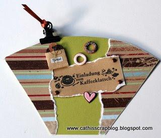 Cathis Scrapblog Einladung Zum Kaffeeklatsch