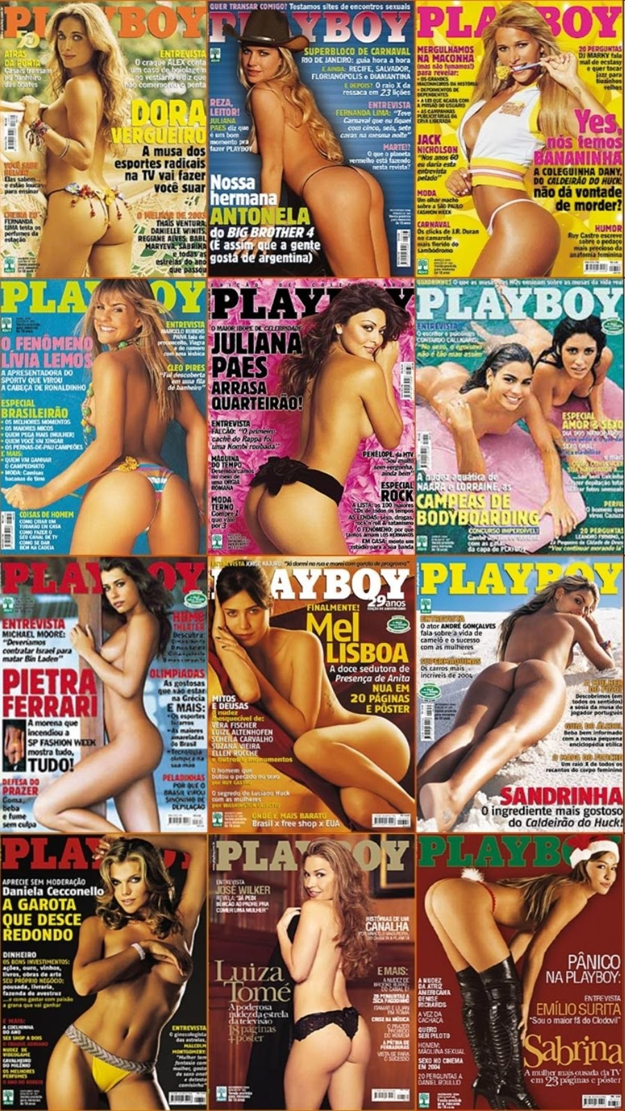 Todas As Revistas Playboy De