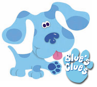 Blues Clues Coloring Pages on Cik Nab Nak Story Mory  List Of My Favourite Cartoon
