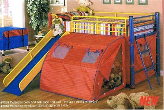 Multi Color Bunk Bed CR 7239