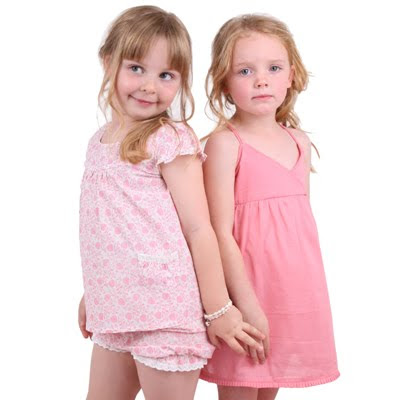 Australian designer baby clothes cornflowerblue organic kids clothes